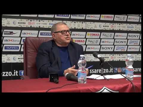 Calcio, Pieroni in conferenza: